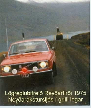 U23-Volvo144-frá 1975-Bjarni Sveinsson