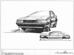Volvo_780_Bertone_prototype_sketch
