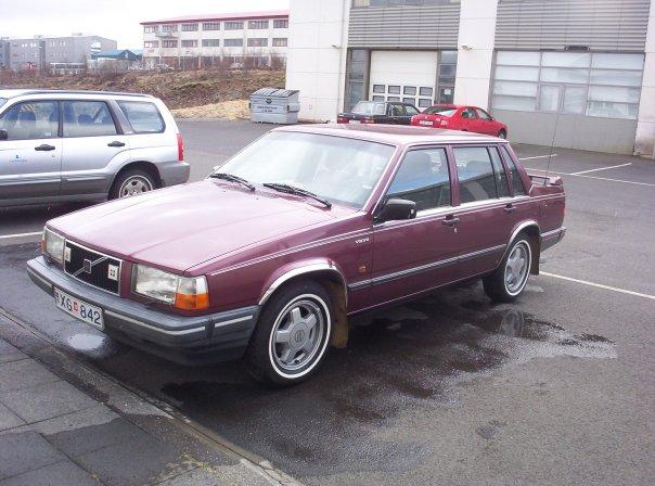 Volvo 740 GL 1990 með nýju úliti
